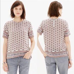 MADEWELL • silk blouse